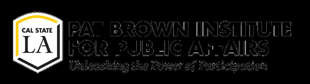 Pat Brown Institute Logo