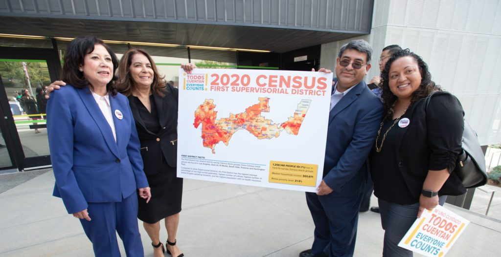 LA County and Supervisor Hilda Holis Press Conference – Proclaiming April 1st 2020 as Census Day