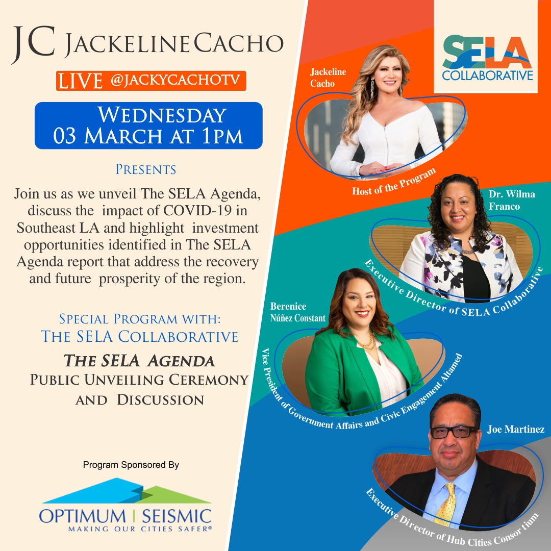 SELA Agenda FB Live