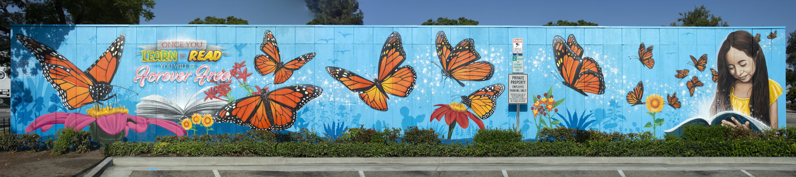 SELA Butterfly Mural_Photo Credit County of LA